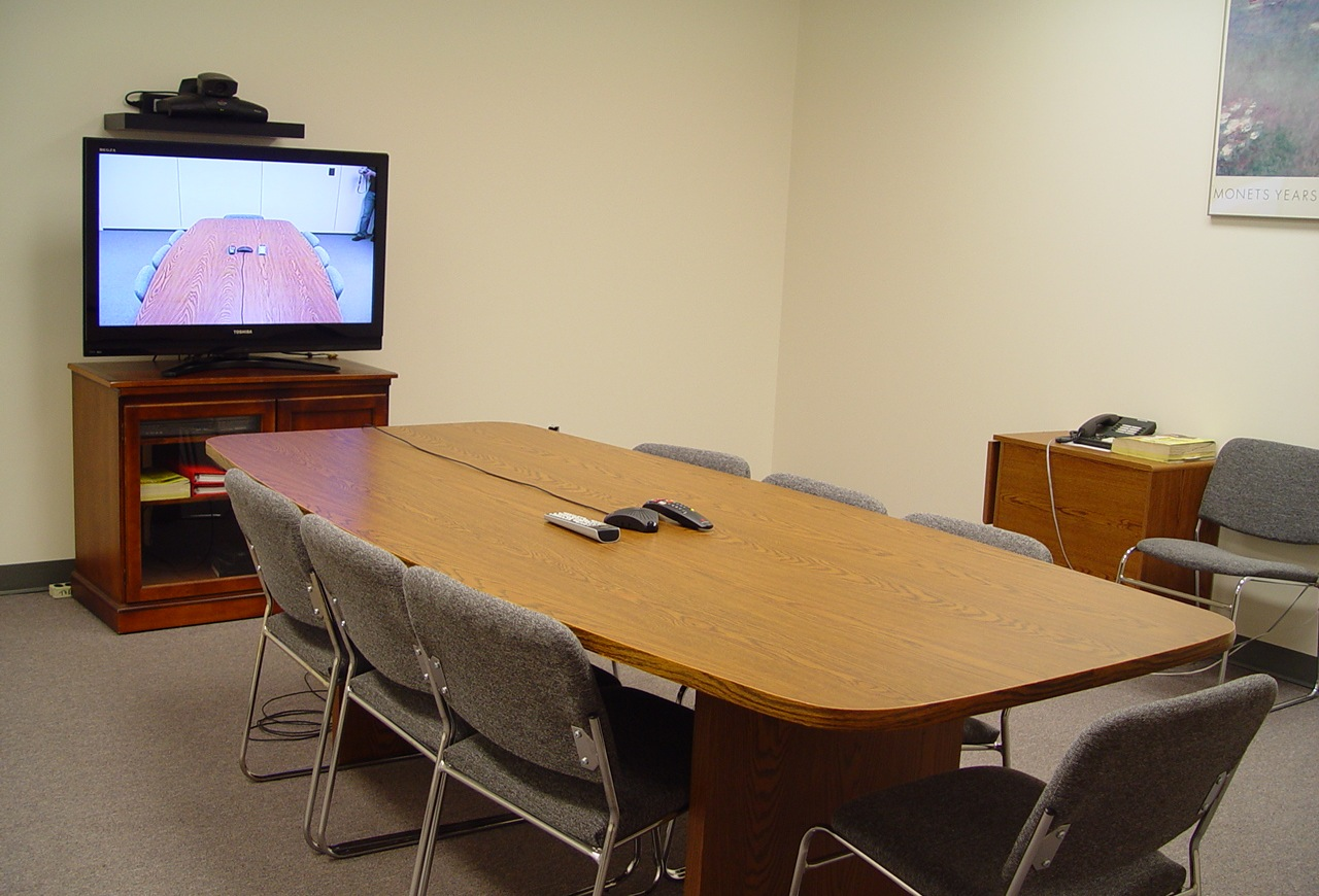 Rent time in our Video Conference Room