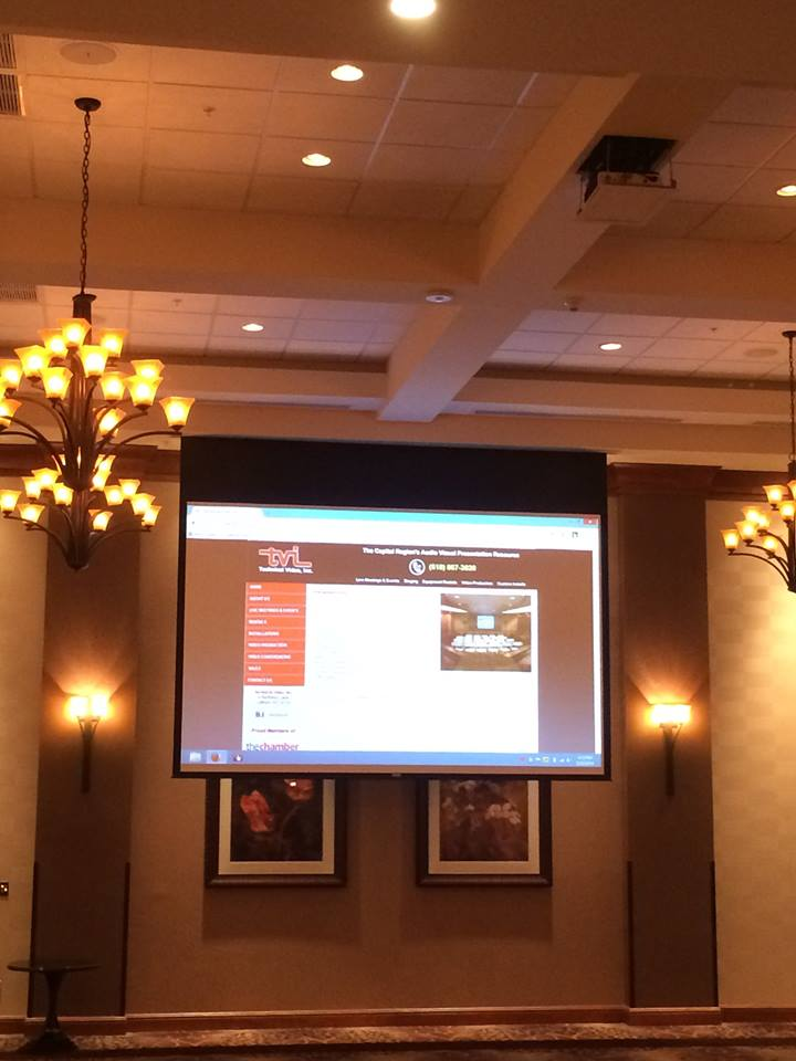 HD Projection Installation at Hilton Garden Inn in Clifton Park