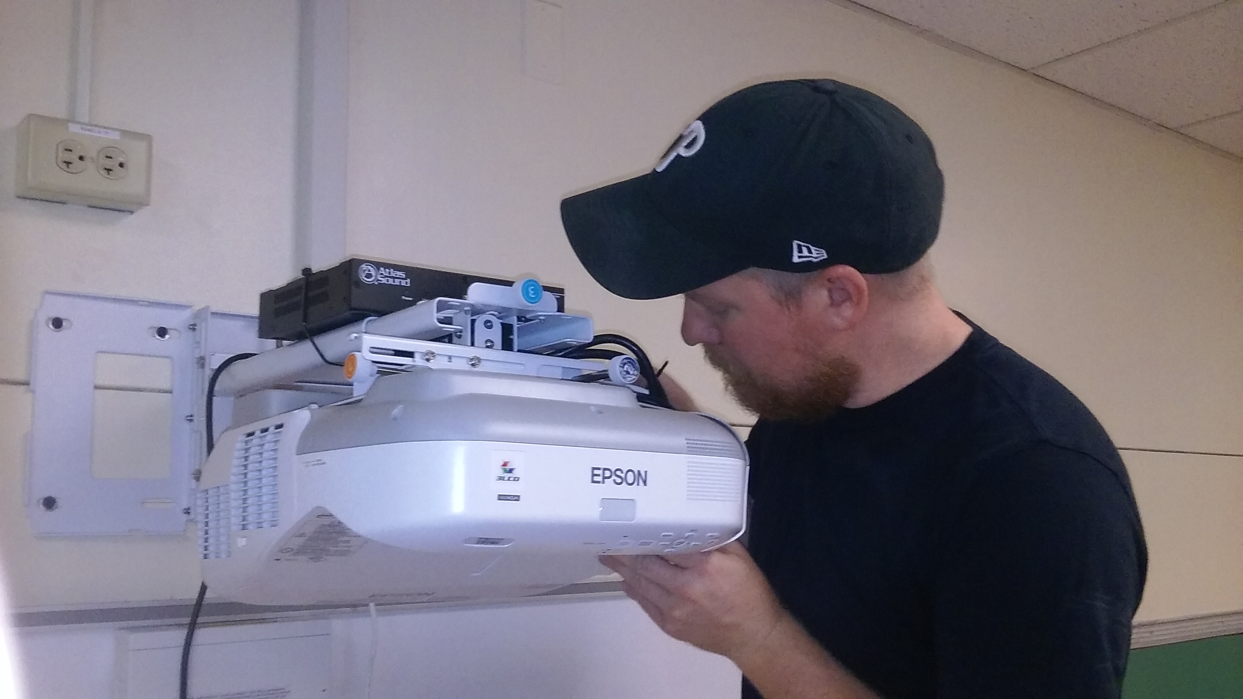 Technical Video Inc. installs high-tech equipment in 70 local classrooms