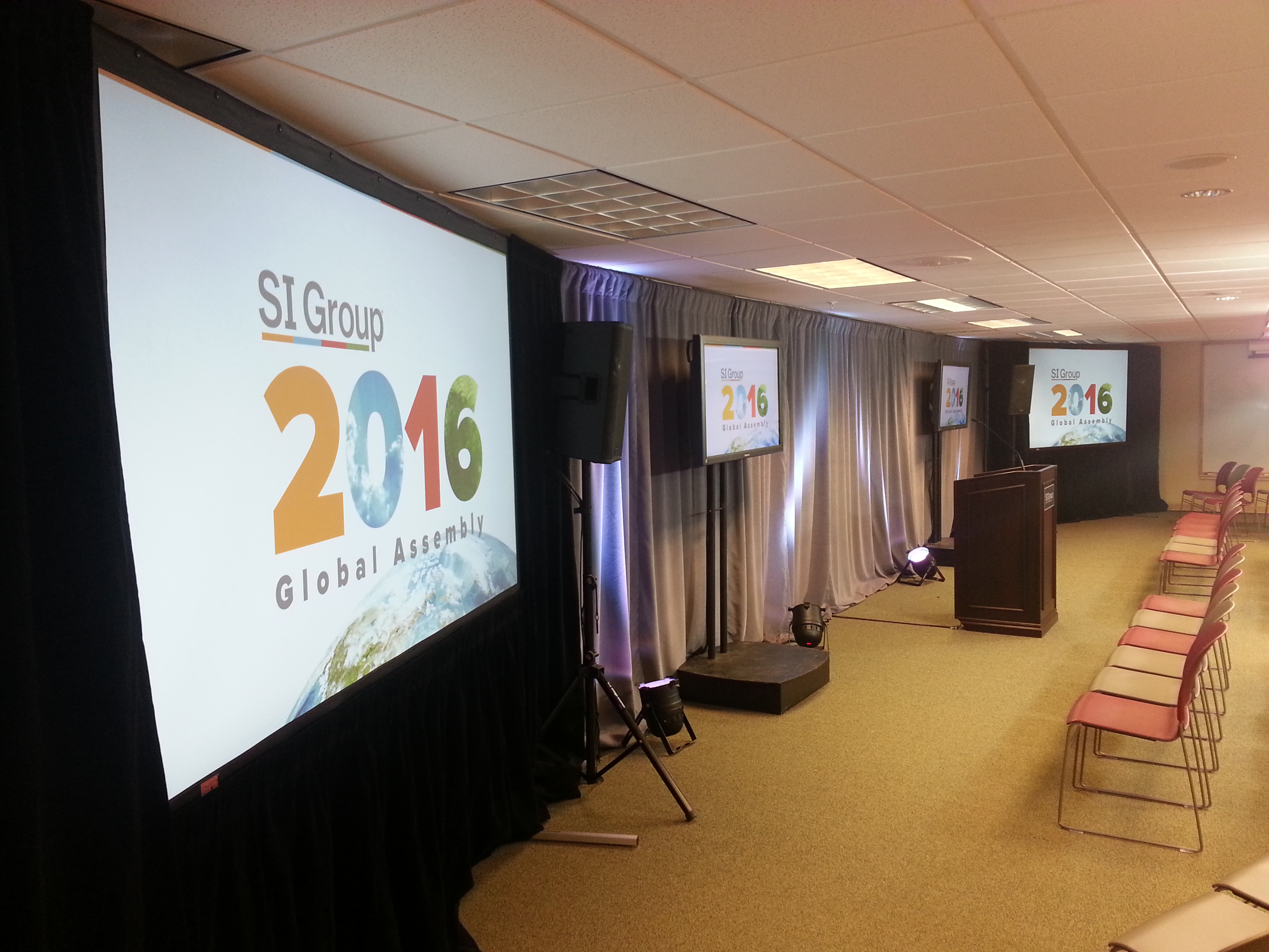 TVI provides event presentation services for SI Group Global Assembly reaching employees worldwide