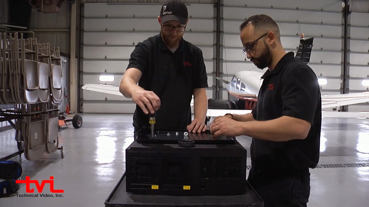 Technical Video Inc. Custom A/V Equipment Installation at Integra Optics